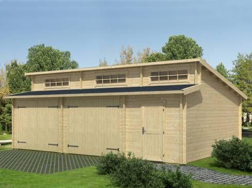 44 best garage images on Pinterest Carriage house, Bricolage and Cars - construire un garage en bois m