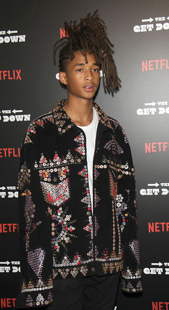 Image result for jaden smith button coat