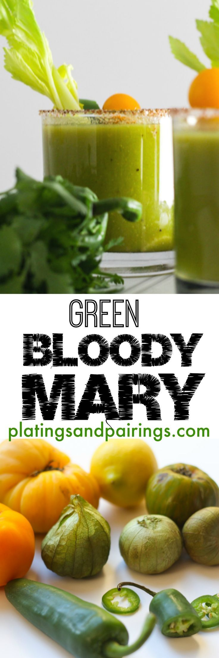 A fun twist on the traditional bloody mary!