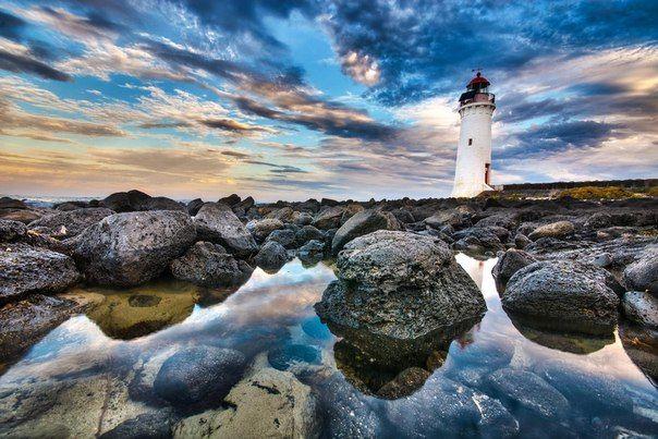 Port Fairy Lighthouse, Великая океанская дорога, Австралия