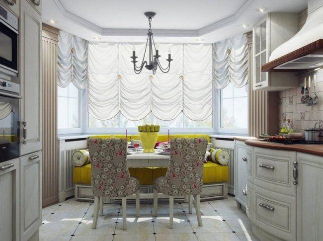 22 идеи интерьера для кухни с эркером. Как лучше спланировать такую кухню?
