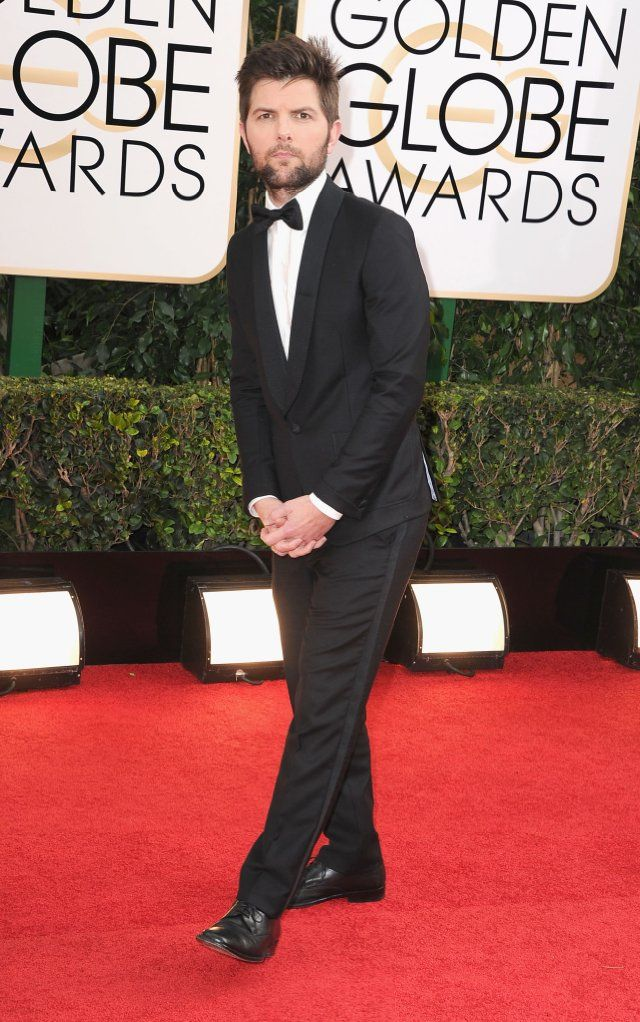 Adam Scott needs to fix his beard! #2014GoldenGlobes #RedCarpet