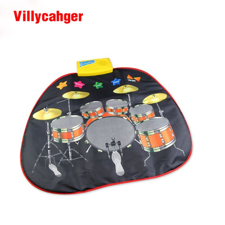 Trasporto libero 70.5x65 cm Jazzdrums Musical ascolta mat/Baia play mat/Nuovo Modo Educativi Per Bambini giocattoli/gioco del bambino tappeto 8859NC
