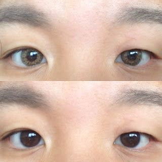 REVIEW: Geo Tri-Colour Brown Contact Lense from Pinky Paradise - JACQUELINEY