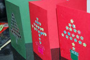 Easy to make Christmas Cards
