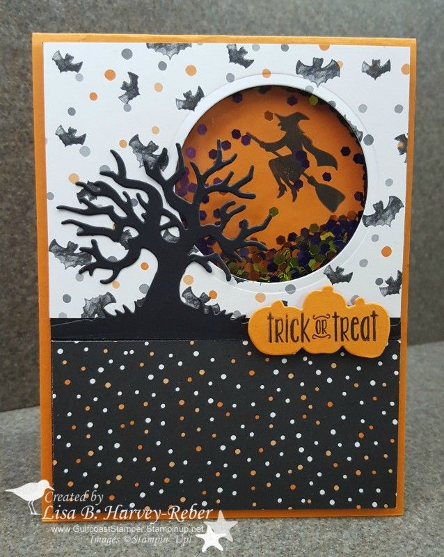 One of my Holiday Catalog Kick Off cards http://gulfcoaststamper.typepad.com/my-blog/2016/09/spooky-fun-shaker-cyci138.html
