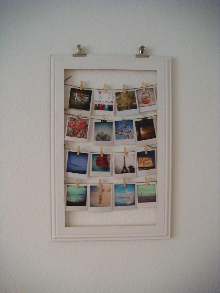 my first vintage photo frame - diy