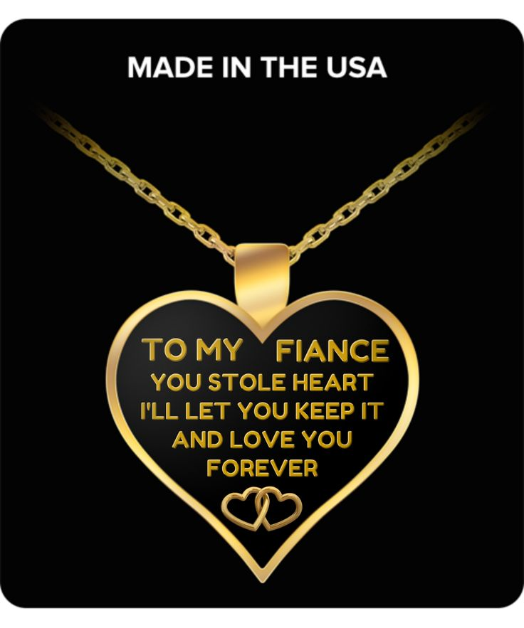 Gifts For Fiance Birthday Valentine's Day Surprise Wedding Anniversary Romantic Women Her Christmas - 22 Inch Necklace Chain
