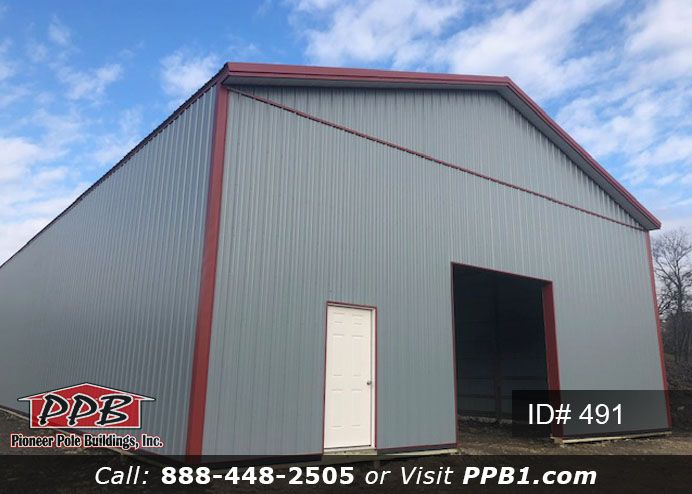 Big Storage 40 W X 120 L X 16 6 H Id 491 Pole Buildings Building Siding Colors