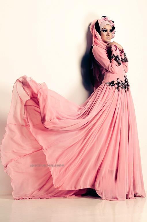 AQAR #Hijab Dress.