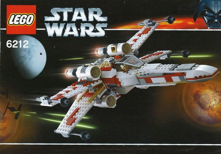 Star Wars Episode 4-6 - X-wing fighter [Lego 6212]
