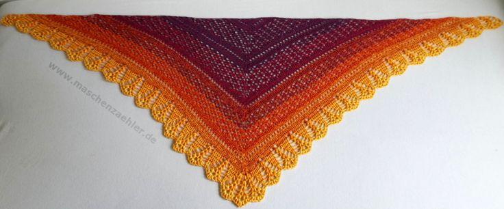 Erigeneia - gehäkeltes Tuch mit Tutorial in Deutsch :-D ----- shawl to crochet with tutorial - in English too