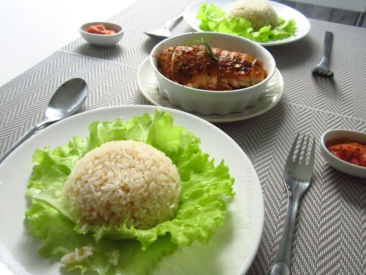 Set 2, 1 Chicken 6 Dishes, 2/6: Singaporean Chicken Rice.