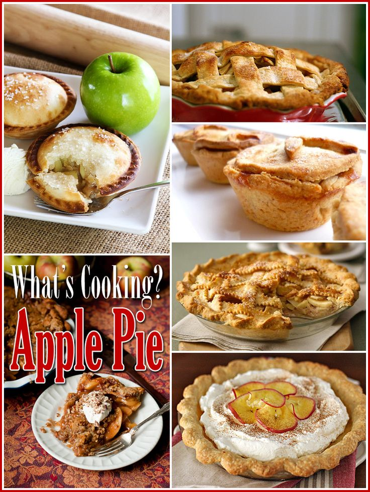 What's Cooking? 25 Awesome Apple Pies