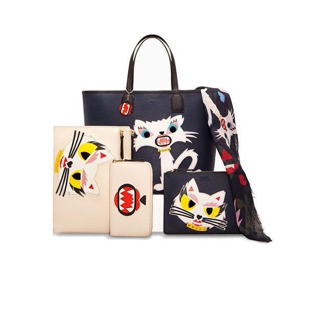 Karl Lagerfeld has created a capsule collection inspired by his cat Choupette