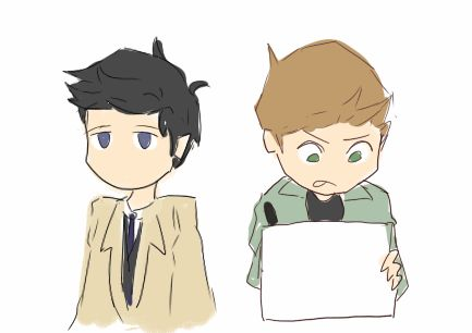 Yeahy! Destiel for the win! 0:)
