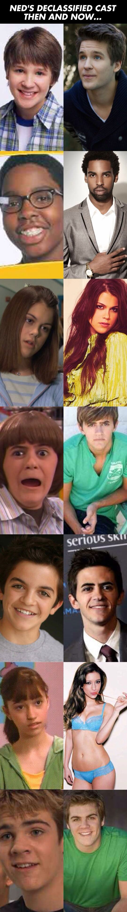 Ned's Declassified Cast Then And Now. Coconut head pulled a Neville Longbottom on us.