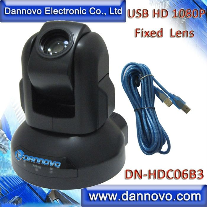 359.00$  Watch here - http://aliadv.worldwells.pw/go.php?t=32621694692 - Free Shipping DANNOVO USB HD 1080P PTZ  Web Camera,3x Optical Zoom,Support Skype, Microsoft Lync(DN-HDC06B3) 359.00$