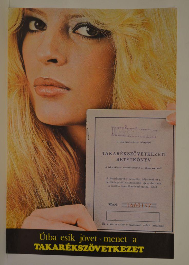 Takarékszövetkezet plakátja (Magyar Kereskedelmi és Vendéglátóipari Múzeum CC BY-NC-SA)