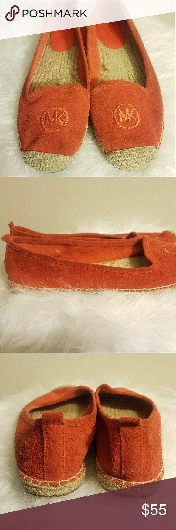Michael Kors Orange Espadrille Shoes 9 Very comfortable with suede material. MICHAEL Michael Kors Shoes Espadrilles