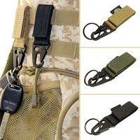 Wish | Useful nylon key hook webbing buckle hanging system belt buckle hanging