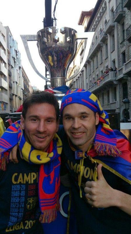 Barcelona celebra el campeonato