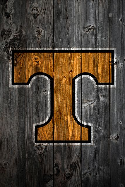 Tennessee Volunteers Wood iPhone 4 Background by anonymous6237, via Flickr