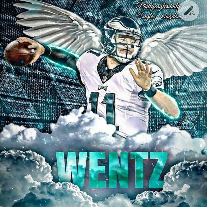 Carson Wentz #11 Fly Eagles Fly