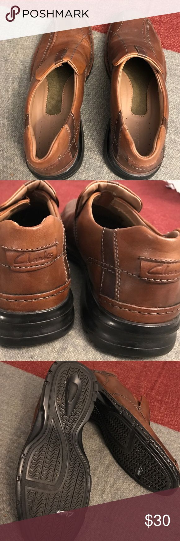 NWOT Men's Clarks Shoes In perfect condition - worn outside once Clarks Shoes Loafers & Slip-Ons