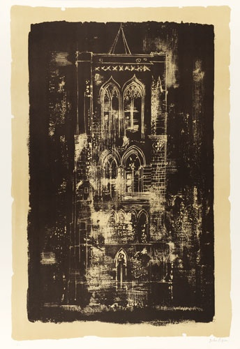 Gedney, Lincolnshire: a tower in the Fens, John Piper