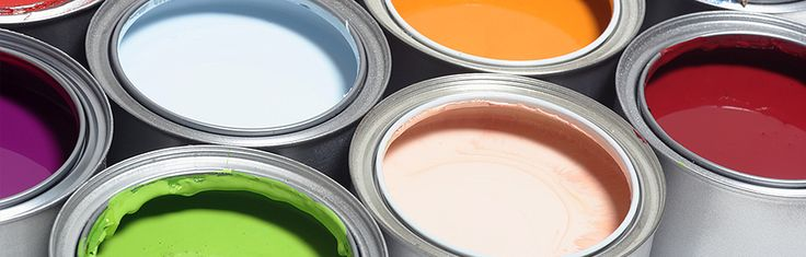Tipi diversi di vernice e smalto