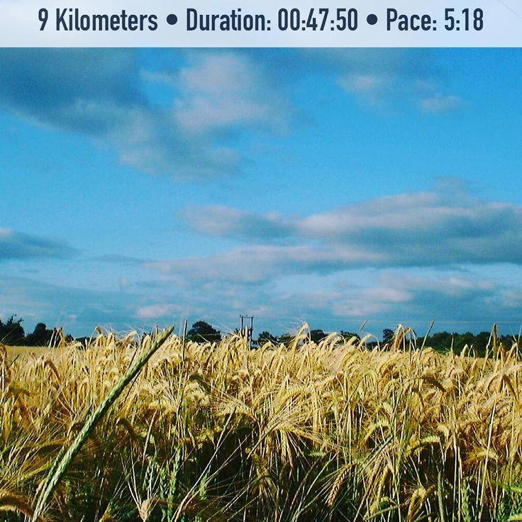 10km would have been easy but my knee started to ache a bit. Not worth hurting it and this was a fast run compared to normal. . . . . . . #running #run #jogging #runner #runhappy #halfmarathon #halfmarathontraining #workout #igrunner #motivation #health #marathontraining #runforlife #runforfun #runnersofinstagram #nevergiveup #fitness #fitnessmotivation #justdoit #athlete #sports #hamstring #trailrunning  #gohardorgohome #instafit  #training #roadrunning #walking #soproud @zipvit_sport