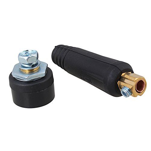 BQLZR Portable Quick Fitting Welding Machine Plug with Panel Socket Cable Welding Connector 10-25mm