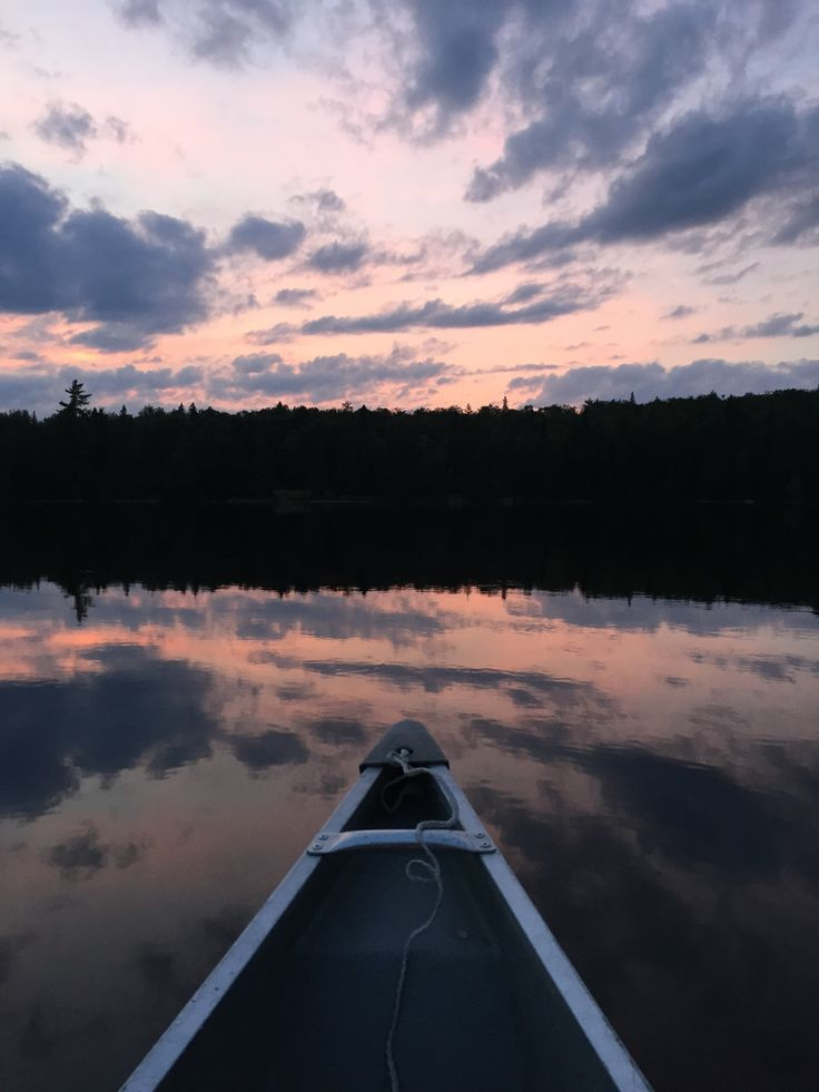 #Paddling #Canoeing #Freedom #JustUs #Sunset