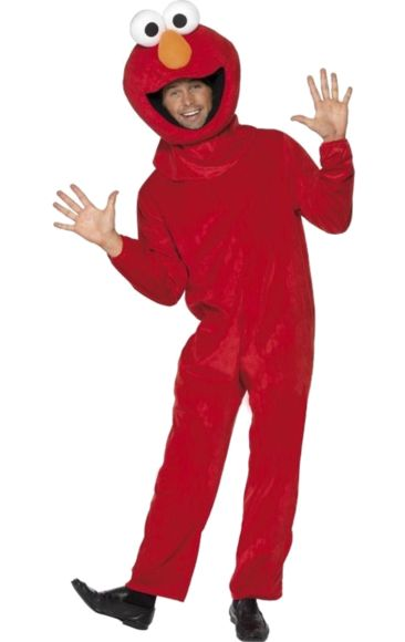 Adult Official Elmo Costume | Jokers Masquerade