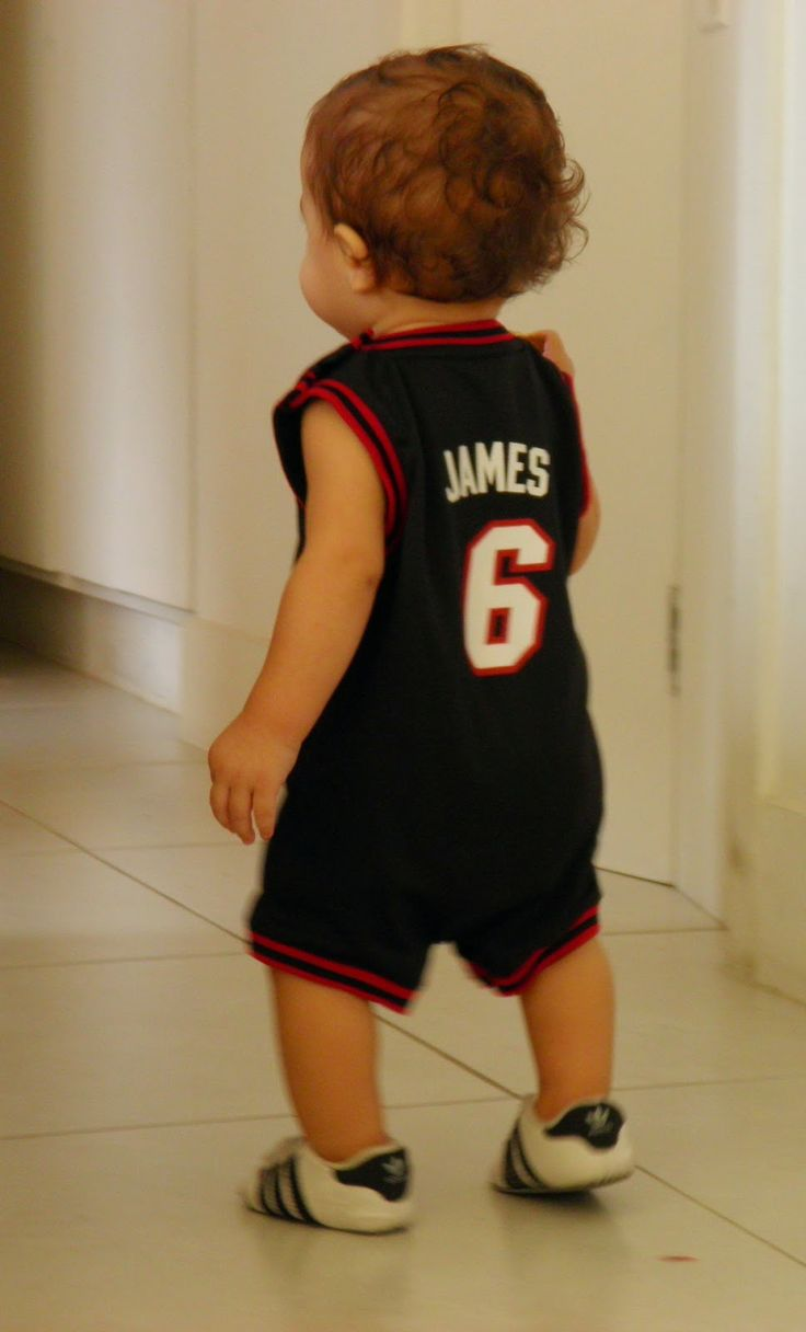 1019b18ac92 ... NBA Miami Heat baby fan ...