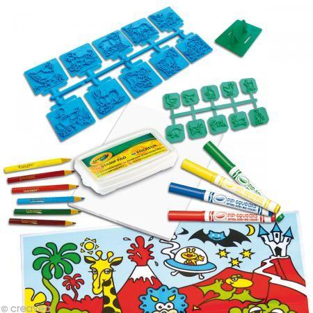 Kit juego de sellos En la granja - Crayola - Fotografía n°2