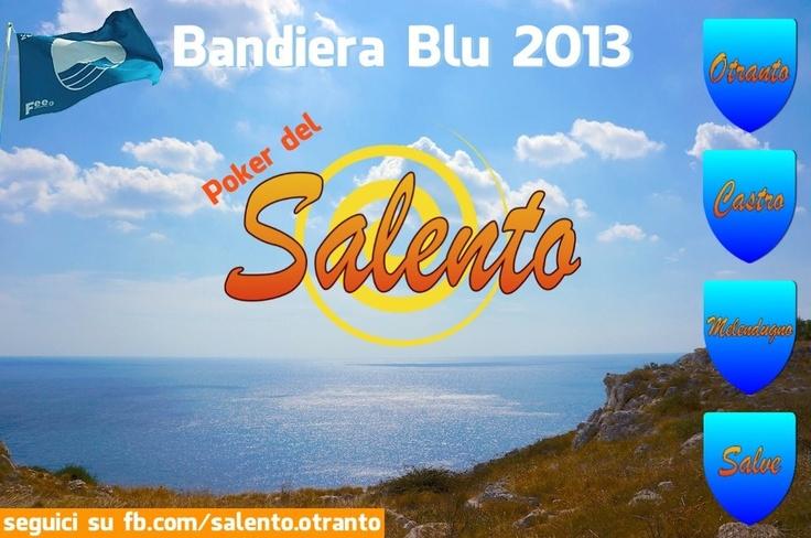 Bandiera Blu 2013... il Salento cala il poker!!!