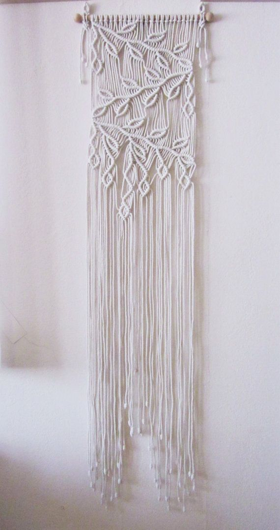 Macrame Wall Hanging Sprigs 2 Handmade Macrame Home by craft2joy