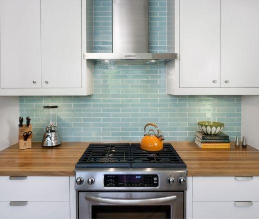 Blue Green Kitchen Backsplash: 17 Best Ideas About Light Blue Kitchens On Pinterest