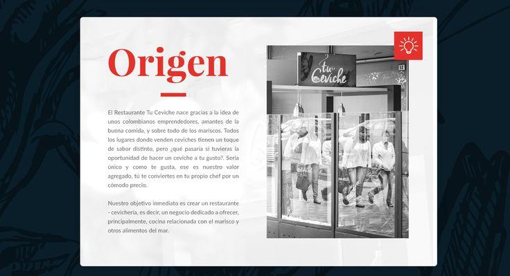 El Restaurante Tu Ceviche nace gracias a la idea de unos colombianos emprendedores, amantes de la buena comida, y sobre todo de los mariscos.Todos los lugares donde venden ceviches tienen un toque de sabor distinto, pero ¿qué pasaría si tuvieras la oport…