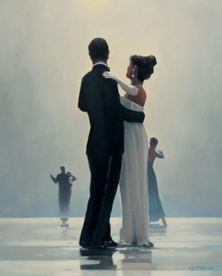Dance me to the end of Love  Artist: Jack Vettriano  Bruce bought me this for our anniversary one year.