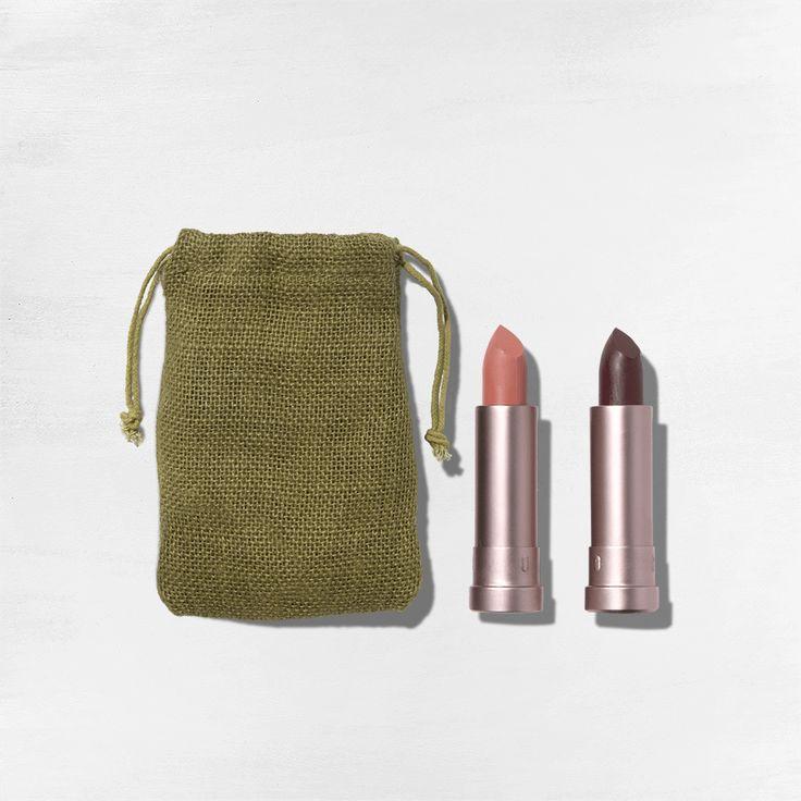 2 Pc. Aubergine & Pink Canyon Semi-Matte Lipstick Gift Set (Web Exclusive)