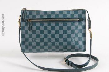 luxuryforyou.ch - first class second hand - Louis Vuitton *MODUL* Damier Ebene Couleur in Cyan N41310