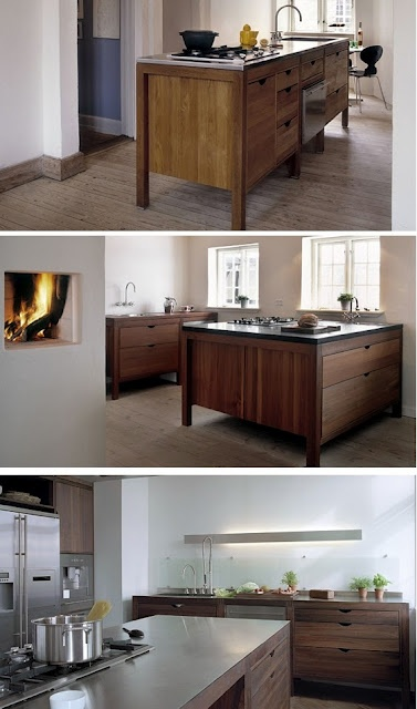 Natural Modern Interiors: Kitchen Design Ideas :: New Modern Kitchens