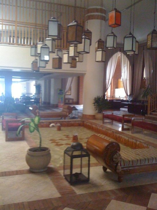 The entrance to The Grand Hotel Sharm El Sheikh