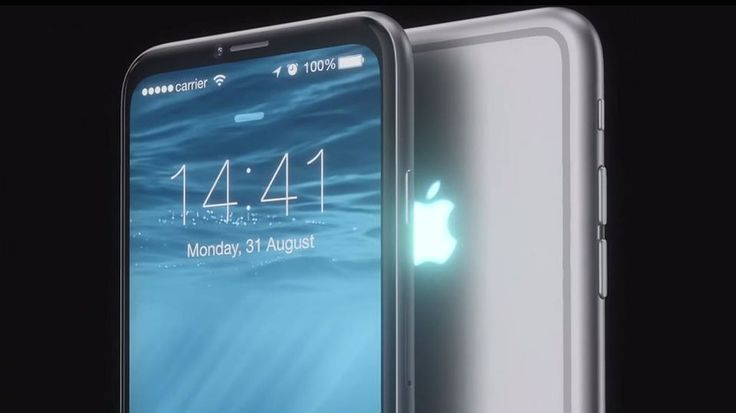 What an iPhone 7 with a glowing Apple logo could look like - @moontechnolabs