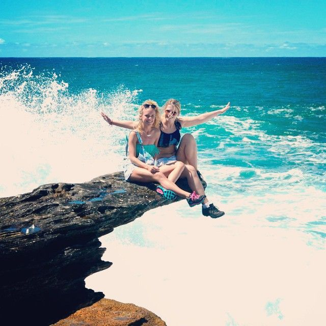 Love the Bondi to Coogee beach walk! This was taken on the 7 day UltimateOz package recently.