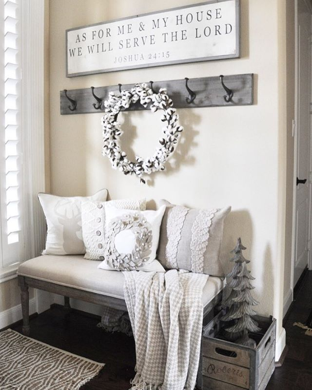 "Happy Wednesday, friends!  Believe it or not, the holidays are right around the corner, and my friends at @shutterfly have compiled ""85 Festive Winter Decorating Ideas"" to help get you get a head start, including my winter entryway from last year!  Be sure to check out their post!  It's full of great ideas! https://www.shutterfly.com/ideas/winter-decorating/"