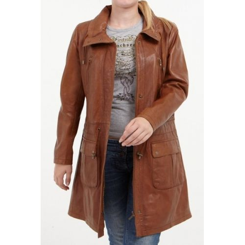 Image result for womens three quarter coat brown